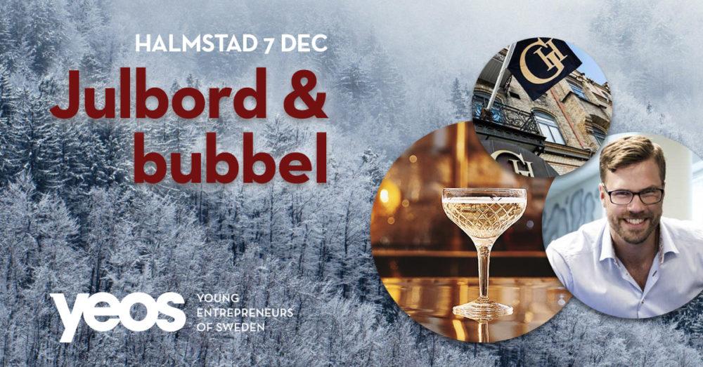 julbord och bubbel